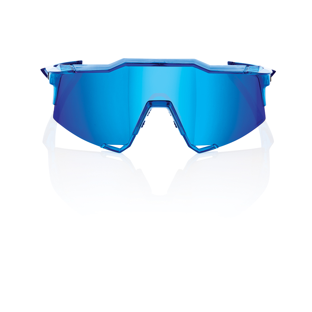 SPEEDCRAFT – Shiny Transluscent Crystal Blue – HiPER Iceberg Blue Mirror Lens