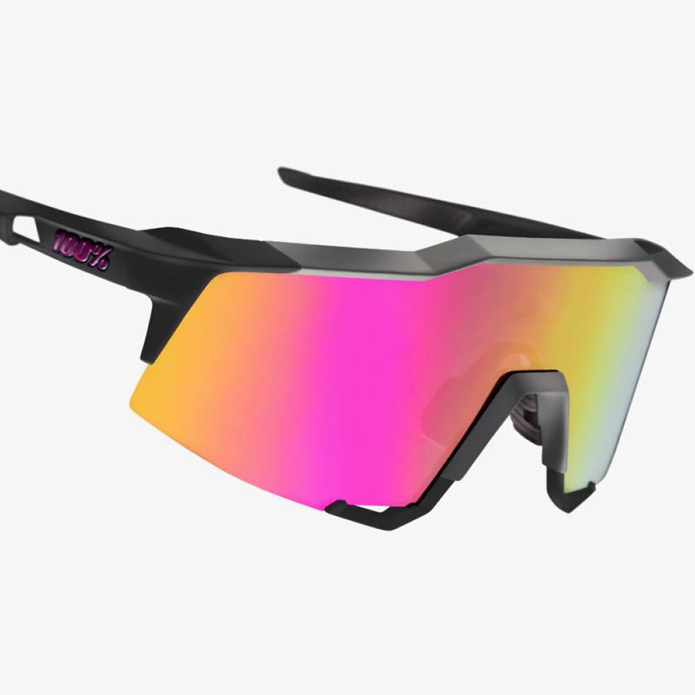 SPEEDCRAFT – Soft Tact Graphite – Purple Multilayer Mirror Lens