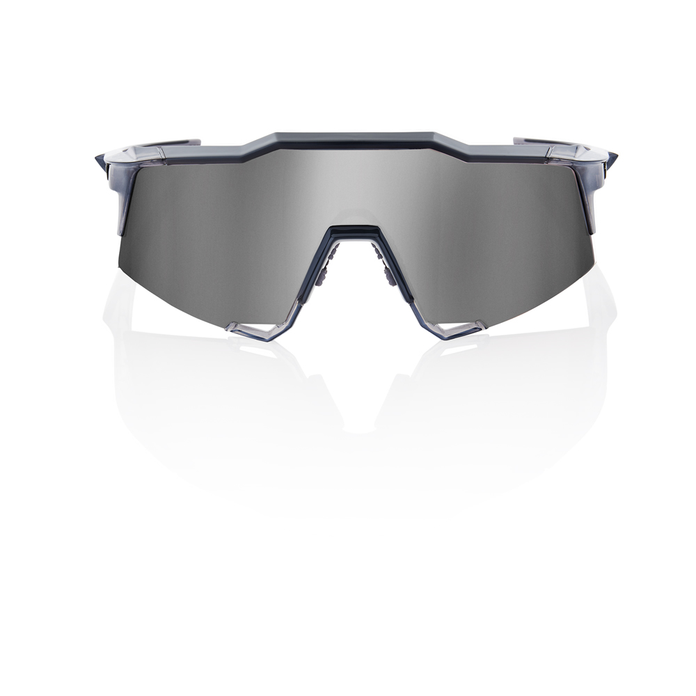 SPEEDCRAFT – Shiny Transluscent Crystal Grey – HiPER Sport Silver Mirror Lens