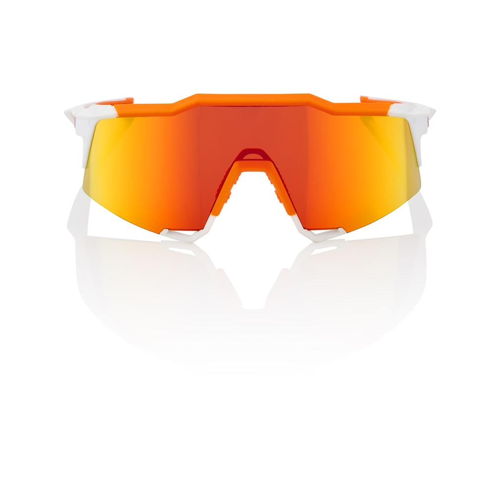 SPEEDCRAFT – Soft Tact Day Glo Orange / White – HiPER Red Multilayer Mirror Lens