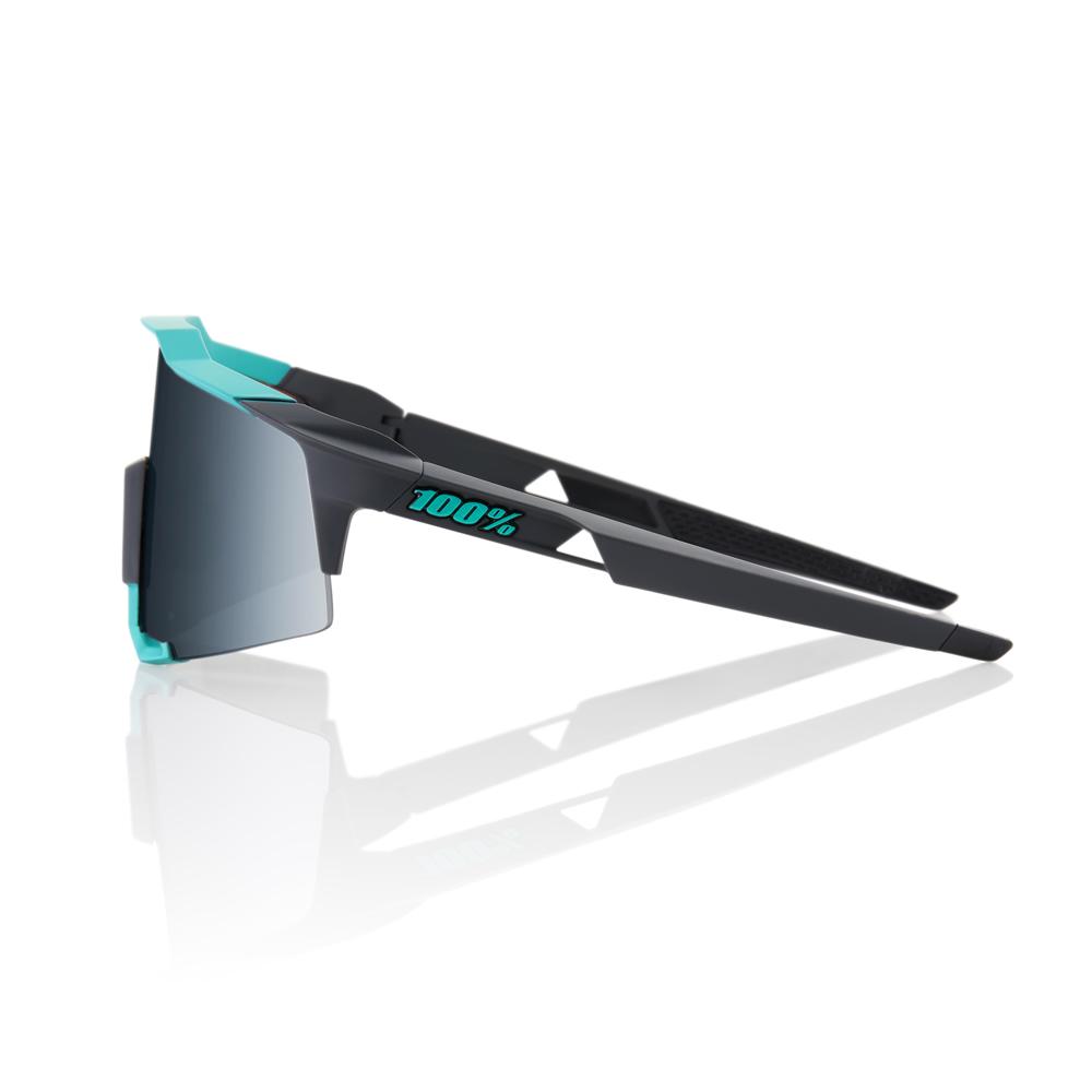 SPEEDCRAFT – Soft Tact Celeste Green / Cement Grey – Black Mirror Lens