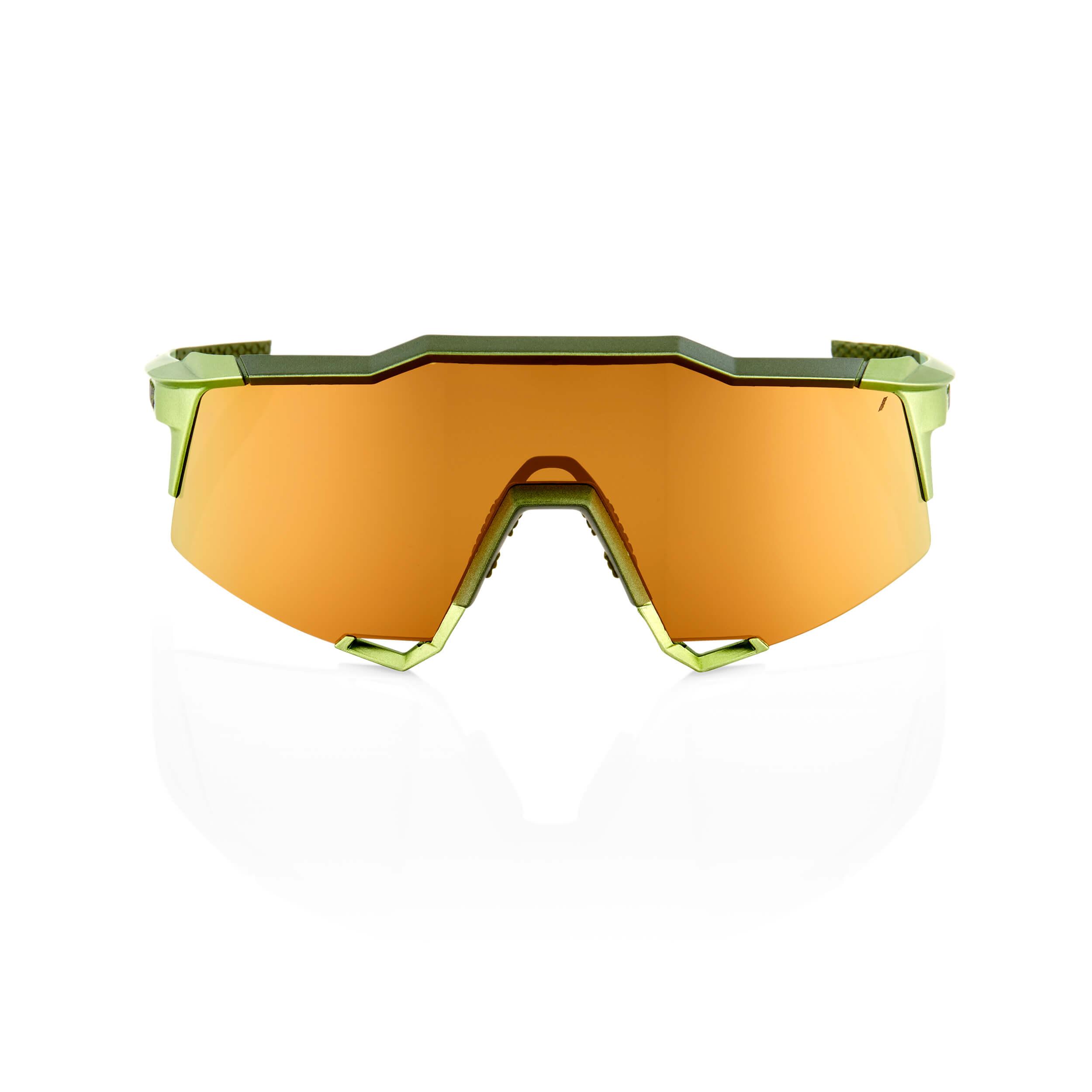 SPEEDCRAFT – Matte Metallic Viperidae – Bronze Multilayer Mirror Lens