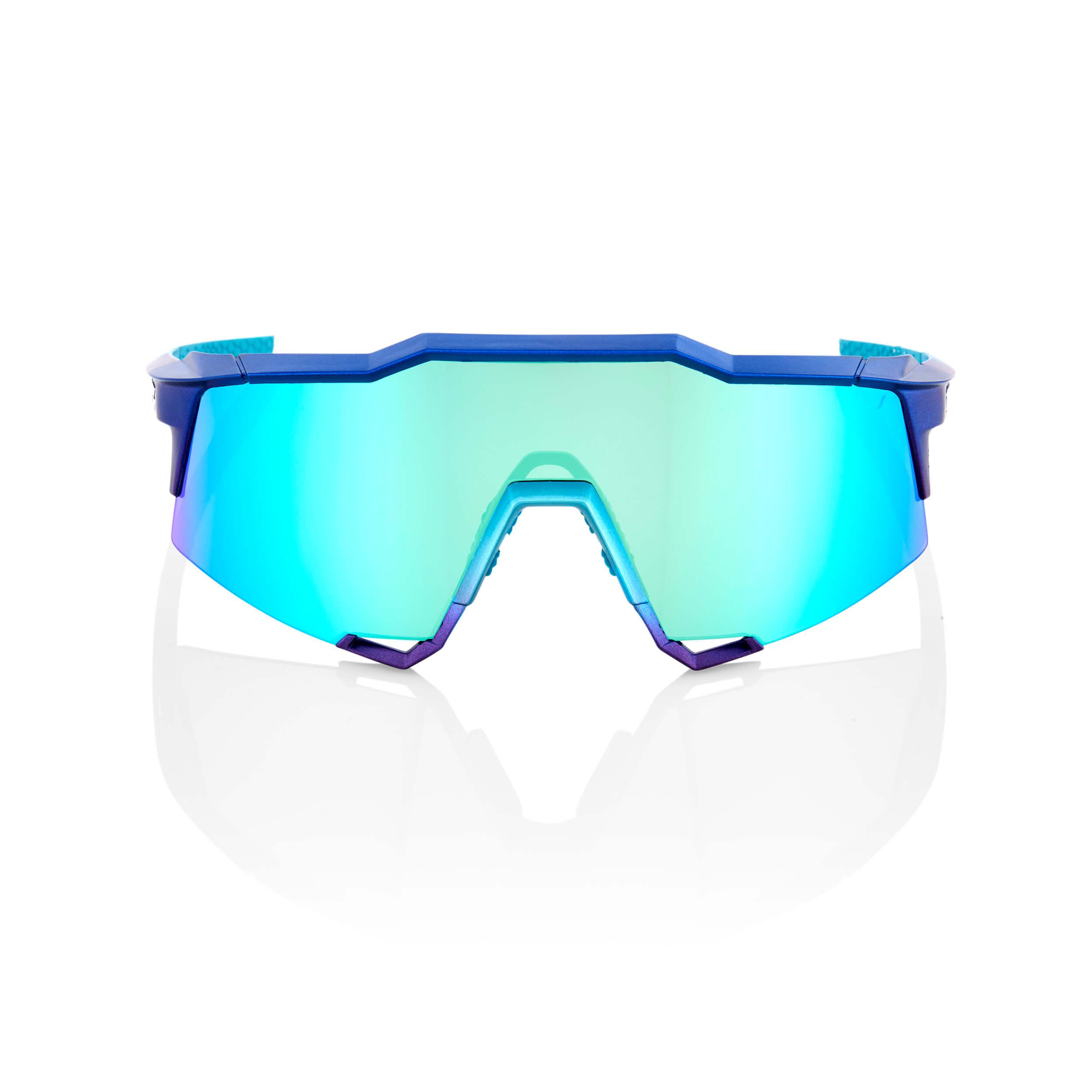 SPEEDCRAFT – Matte Metallic Into the Fade – Blue Topaz Multilayer Mirror Lens