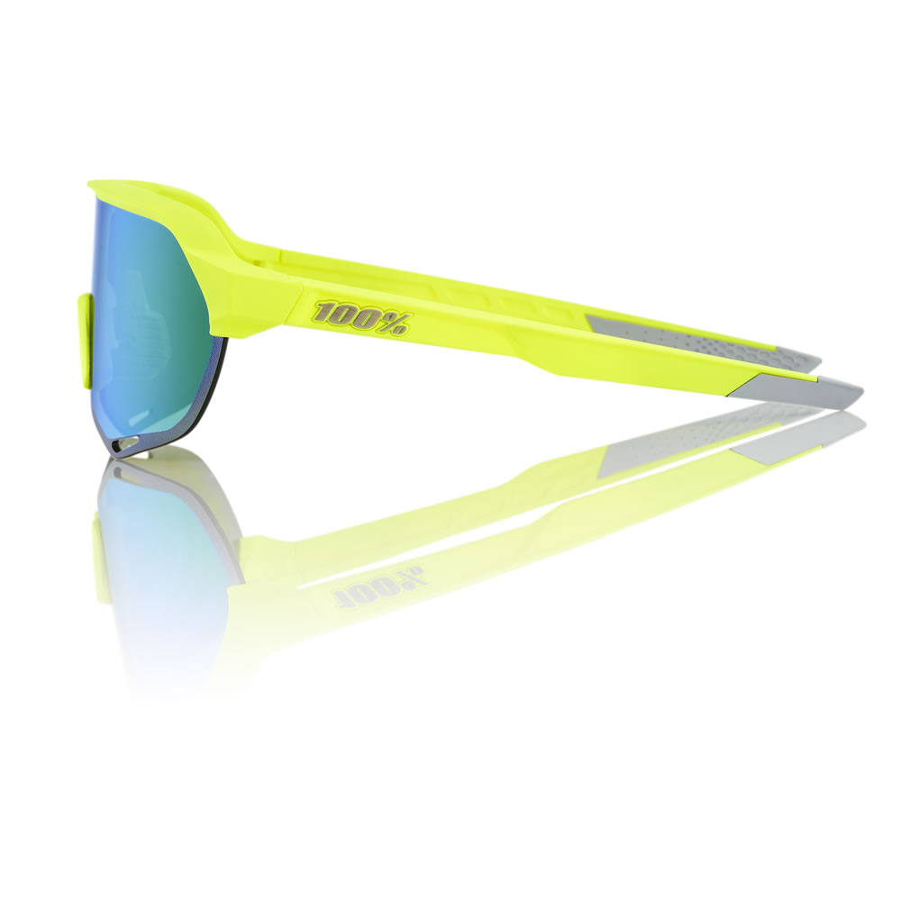 S2 – Matte Fluorescent Yellow – Green Multilayer Mirror Lens