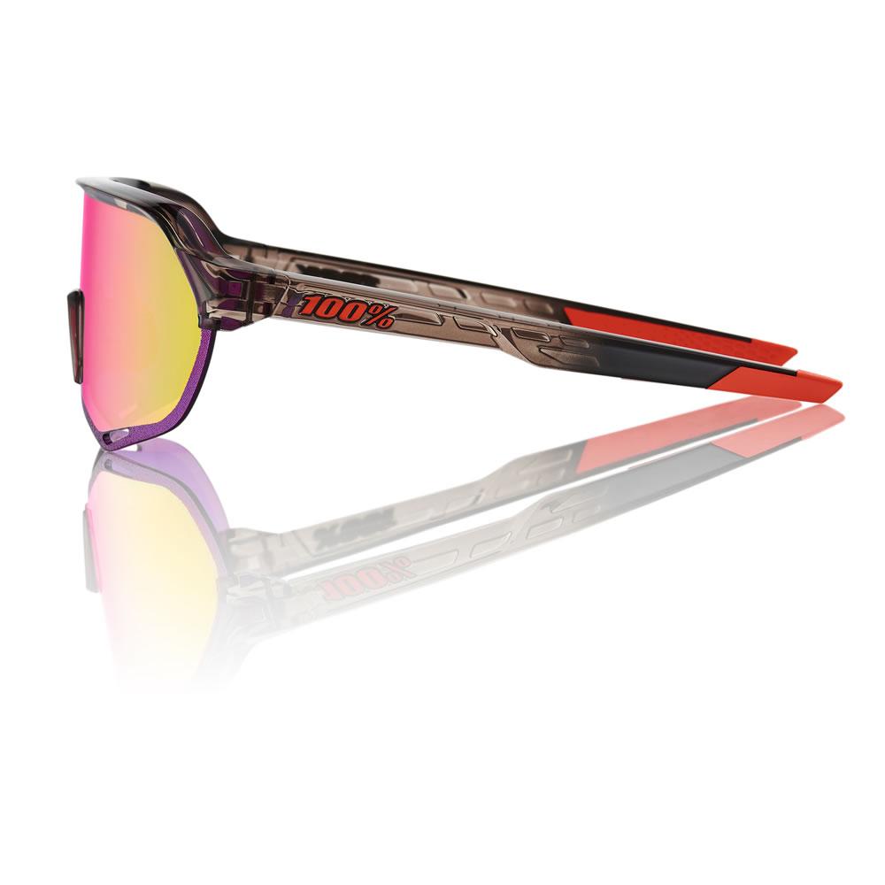 S2 – Shiny Transluscent Crystal Smoke – Purple Multilayer Mirror Lens