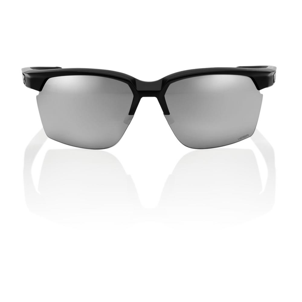 SPORTCOUPE – Matte Black – HiPER Sport Silver Mirror Lens