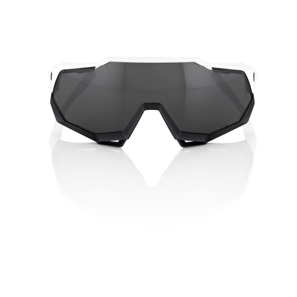 SPEEDTRAP – Matte White / Black – Smoke Lens