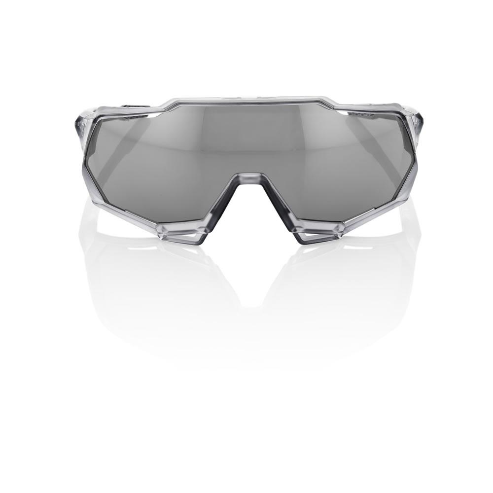SPEEDTRAP – Matte Transluscent / Crystal Grey – HiPER Sport Silver Mirror Lens