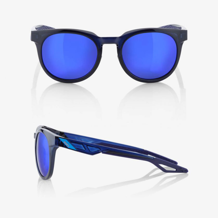 CAMPO – Polished Transluscent Blue / Blue – Electric Blue Mirror Lens