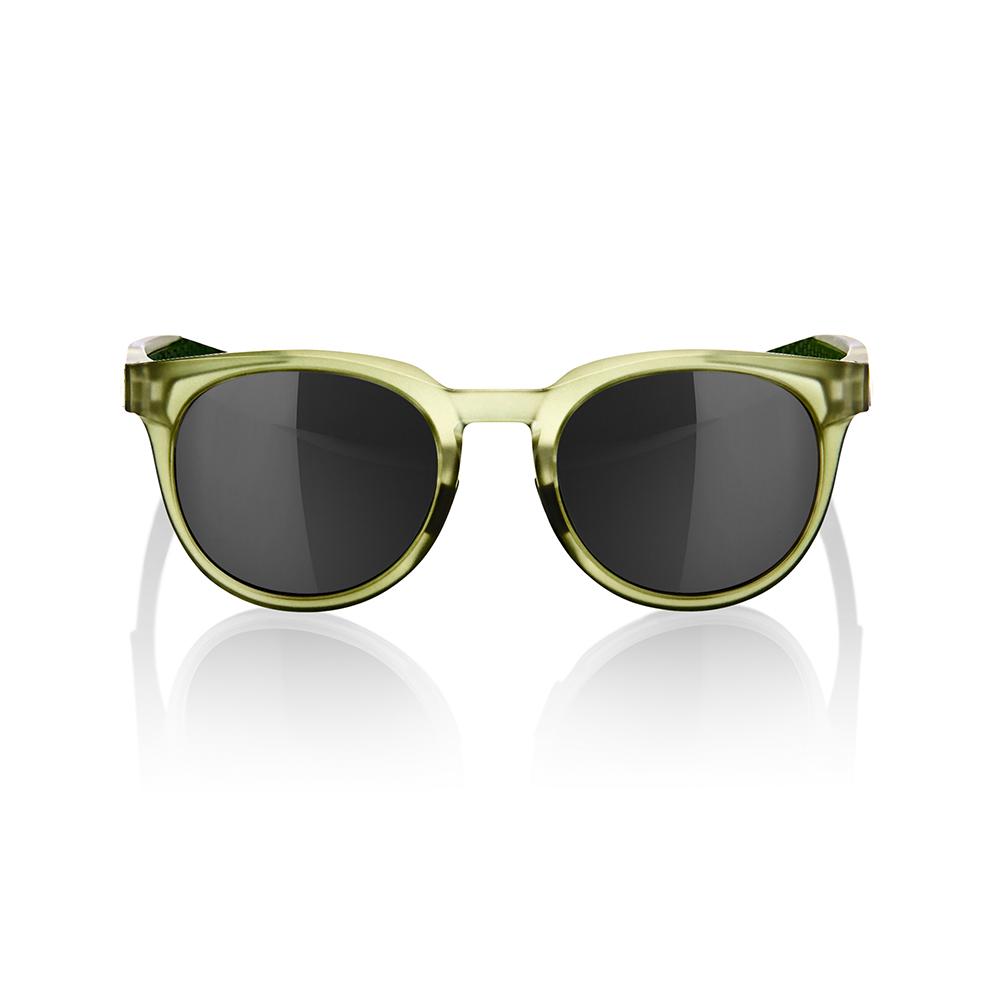 CAMPO – Matte Translucent Olive Slate – Black Mirror Lens