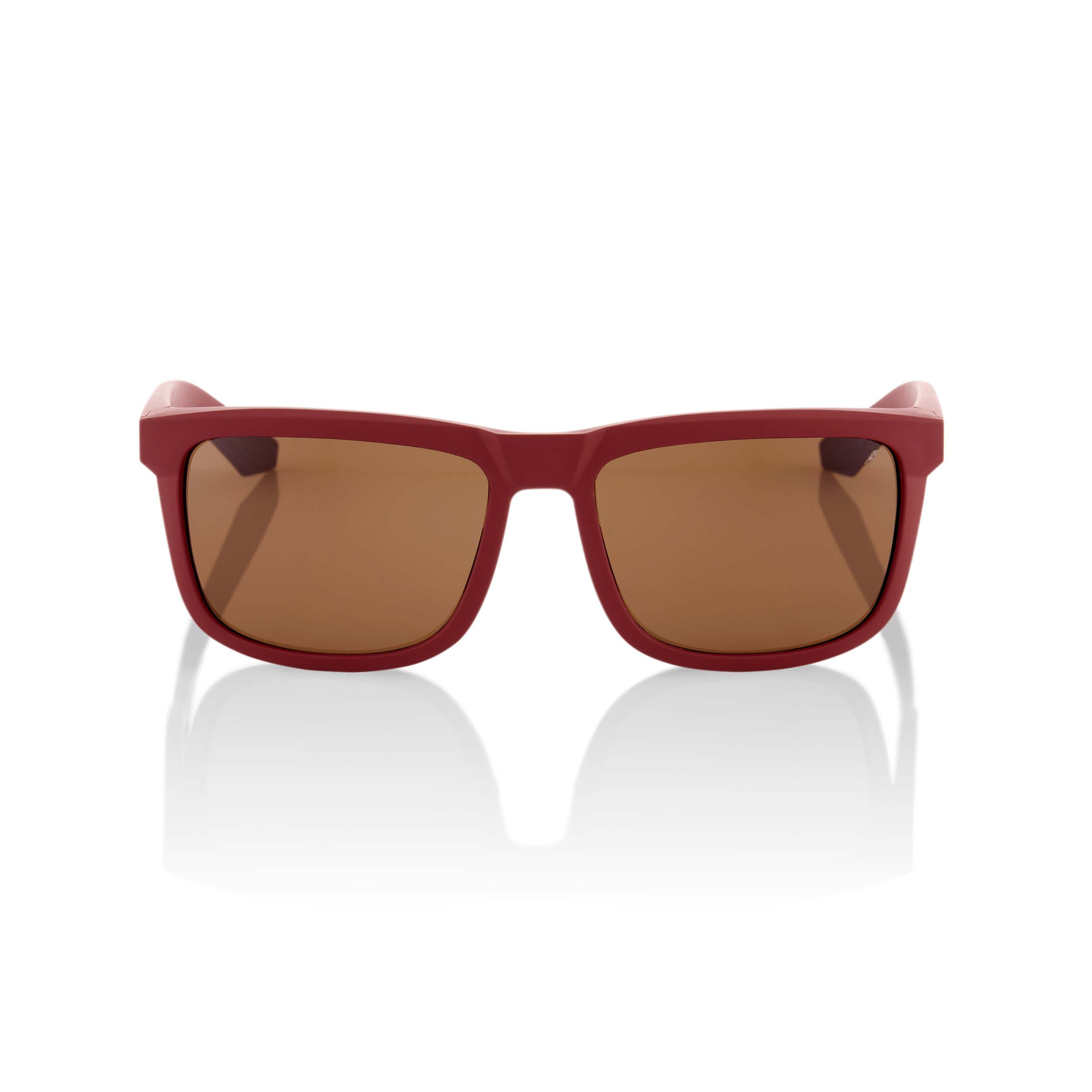 BLAKE – Soft Tact Crimson – Bronze Lens