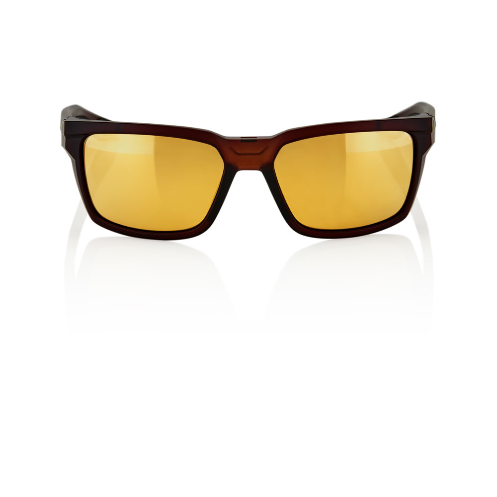 DAZE – Matte Rootbeer – Flash Gold Lens