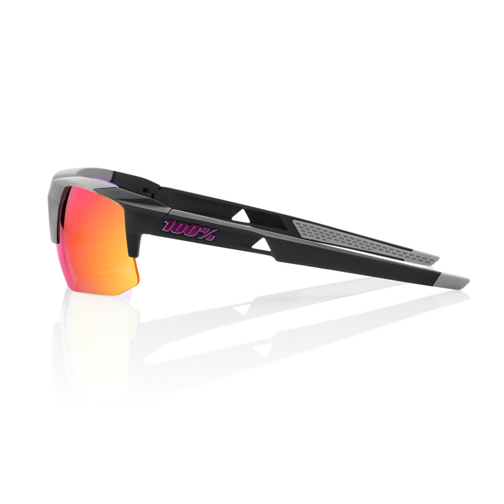 SPEEDCOUPE – Soft Tact Graphite – Purple Multilayer Mirror Lens