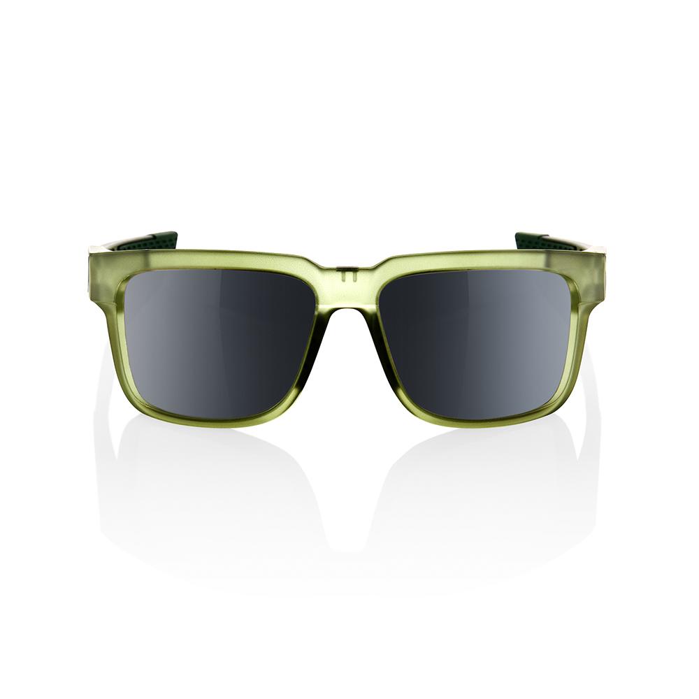 TYPE-S – Matte Translucent Olive Slate – Black Mirror Lens
