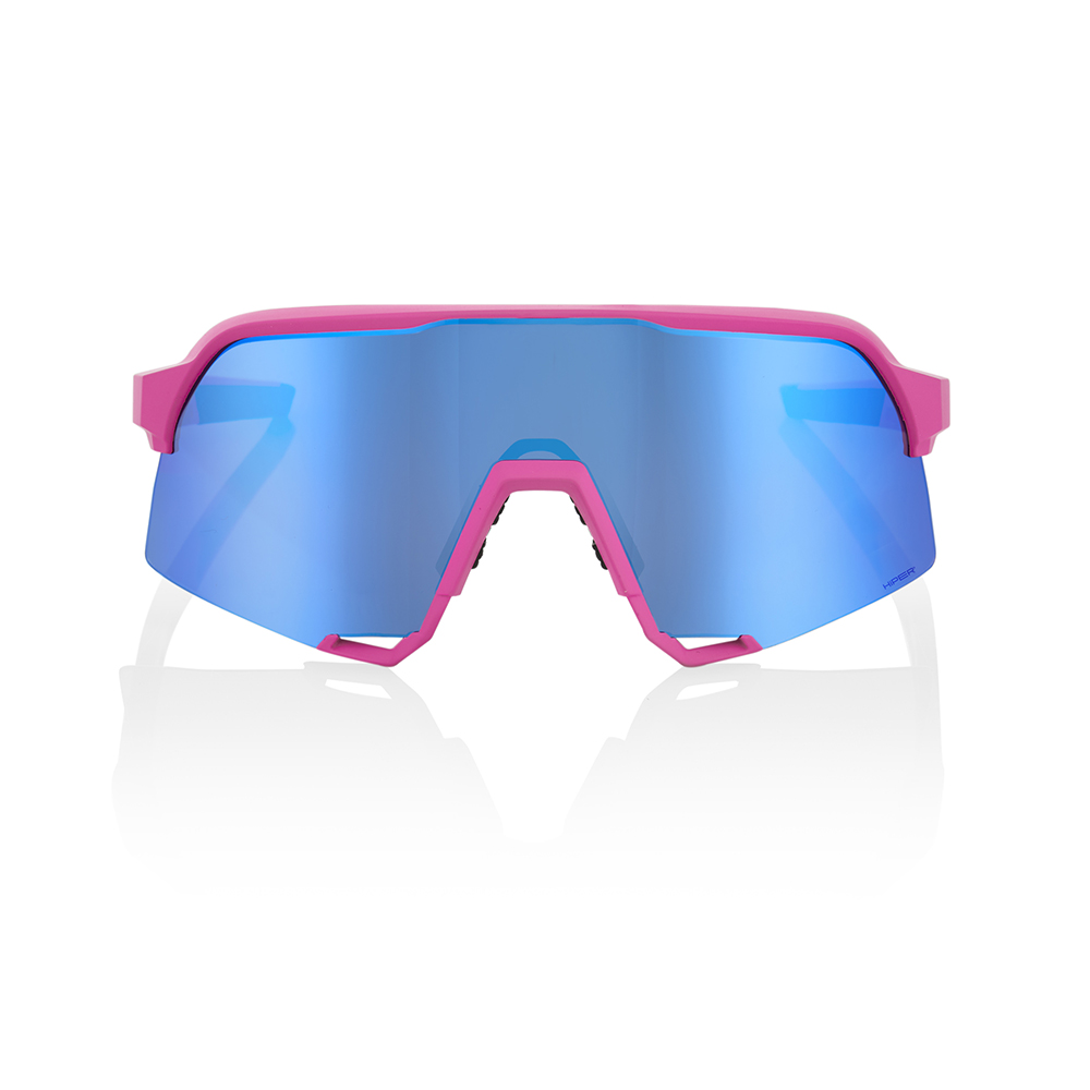 S3 – Matte Pink – HiPER Blue Multilayer Mirror Lens