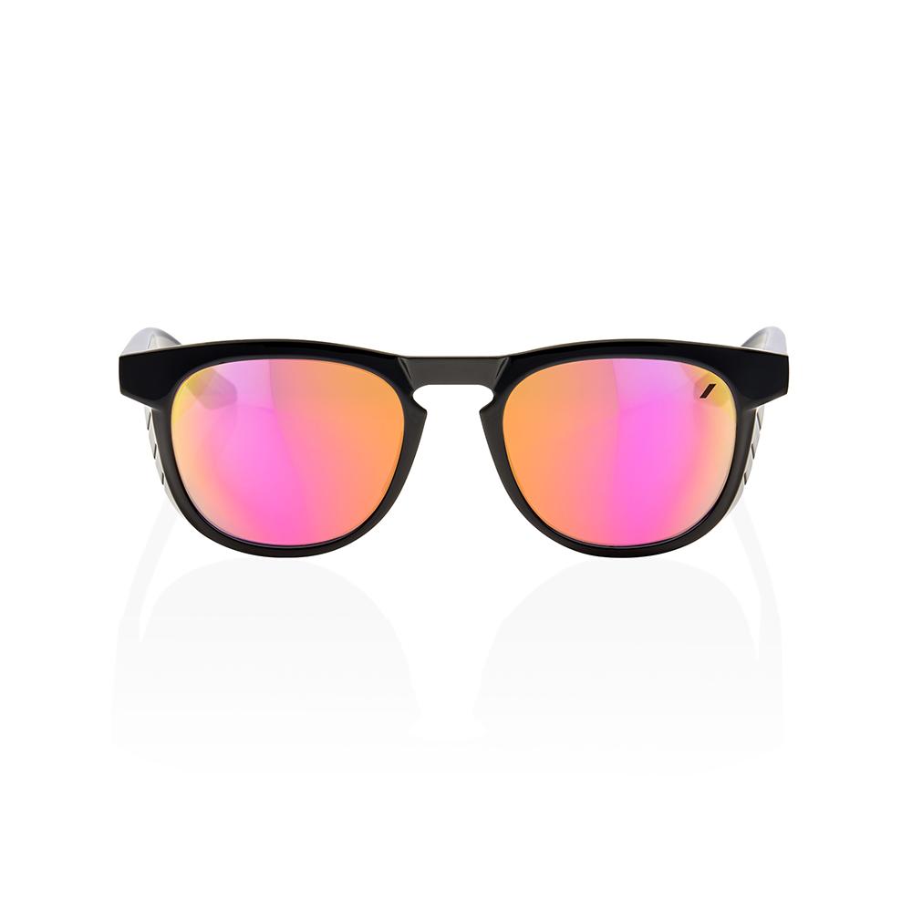 SLENT – Polished Black – Purple Multilayer Mirror Lens