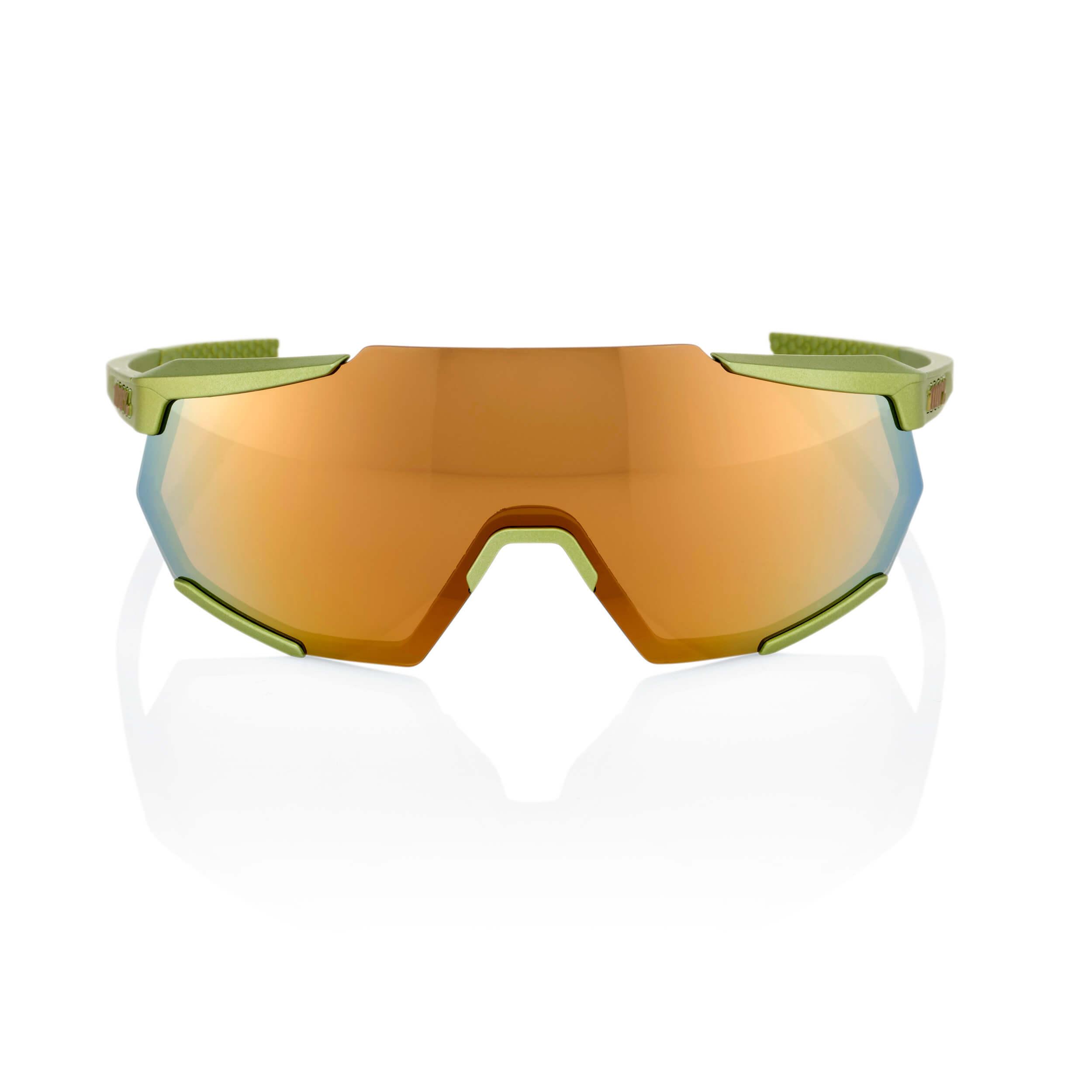 RACETRAP – Matte Metallic Viperidae – Bronze Multilayer Mirror Lens