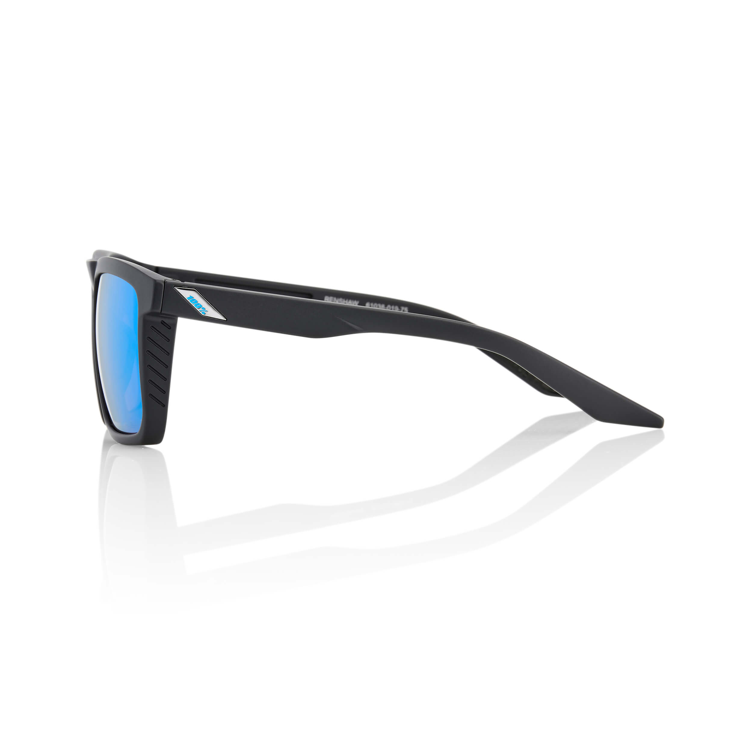 RENSHAW – Matte Black – HiPER Blue Multilayer Mirror Lens