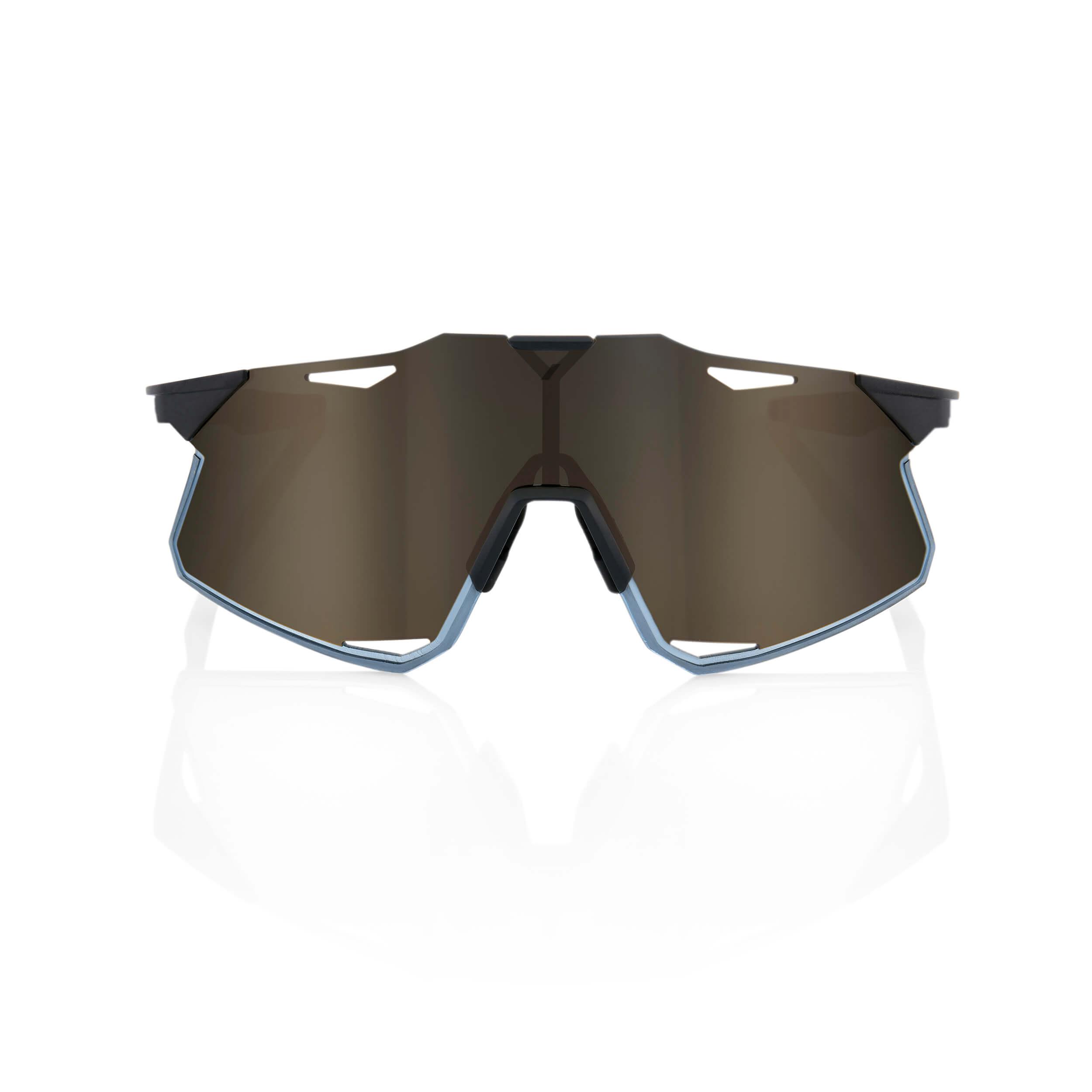 HYPERCRAFT – Matte Black – Soft Gold Mirror Lens