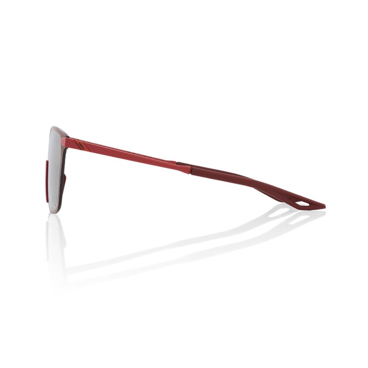 LEGERE Square – Soft Tact Crimson – HiPER Silver Mirror Lens